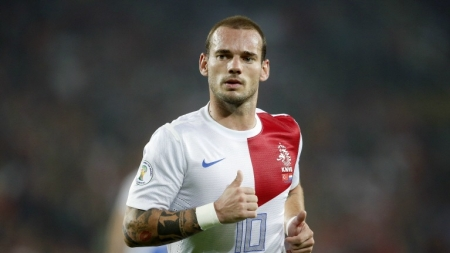 Sneijder groeit langzaam naar WK-vorm
