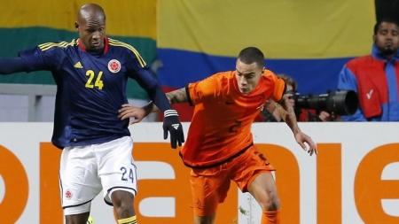 Van der Wiel: 'Lig op WK-koers'