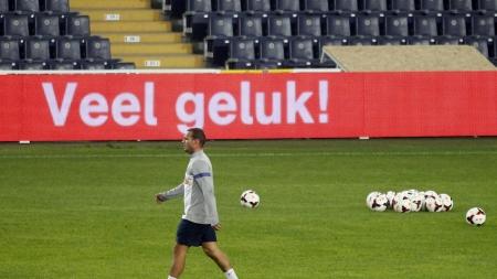 Sneijder: 'Het is even afwachten hè'