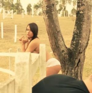 Neymar niet blij met ex-vriendin in Playboy