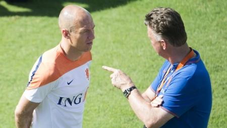 Manchester United zet in op komst Robben