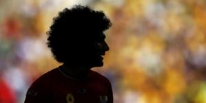 Fellaini scheert kop kaal als België kampioen wordt