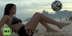 Argentijns model daagt Messi uit: 'Laat maar komen'