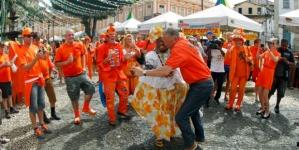 'Nog nooit zo weinig Oranje-fans gezien'