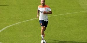 Sneijder: 'De manier waarop ik nu speel: het is nu eenmaal zo'