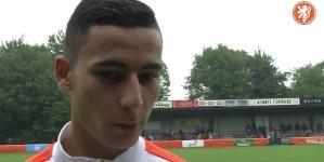 El Ghazi bezoekt Real Madrid: 'Fantastisch om tips van hem te krijgen'