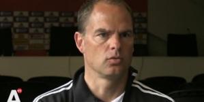 Frank de Boer: 'Erg zuur voor Shaw'