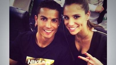 'Ronaldo datet nu bloedmooie Lucia Villalon'