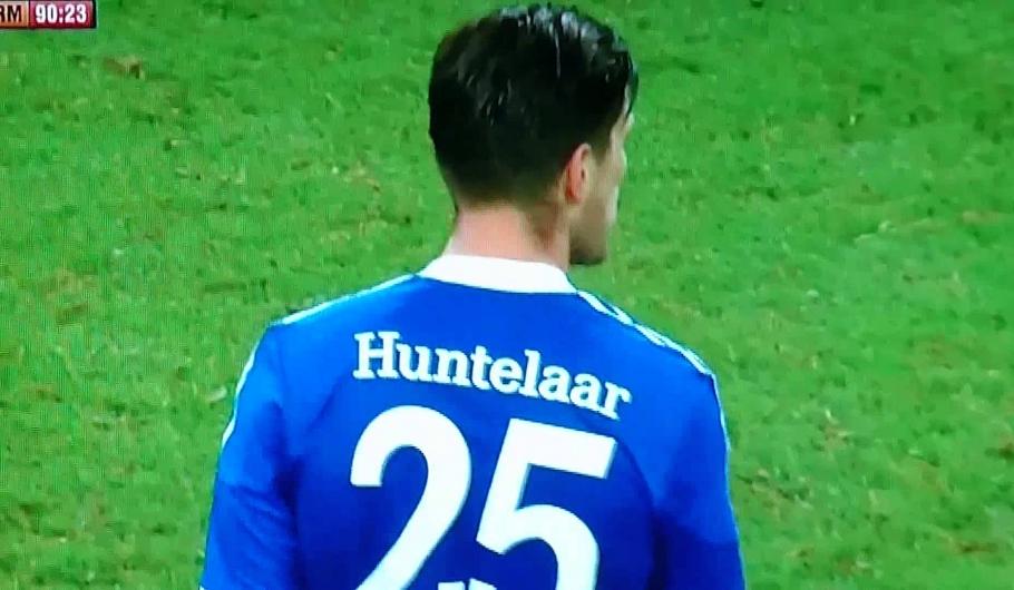 De knal van Huntelaar