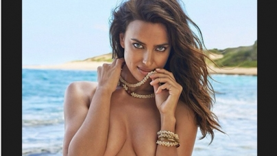 VIDEO | Irina Shayk bokst en stript in sexy campagne