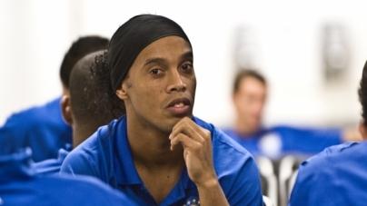 Ronaldinho dicht bij transfer naar Man United