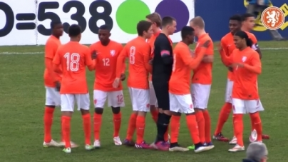 Oranje onder 17 na derde gelijkspel uitgeschakeld op EK