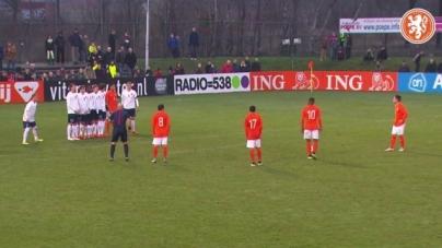VIDEO | Samenvatting Oranje onder 19 – Noorwegen onder 19