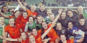 Oranje vrouwen dicht bij top 10 positie