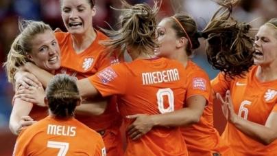 Nederlandse vrouwen oefenen tegen vice-wereldkampioen