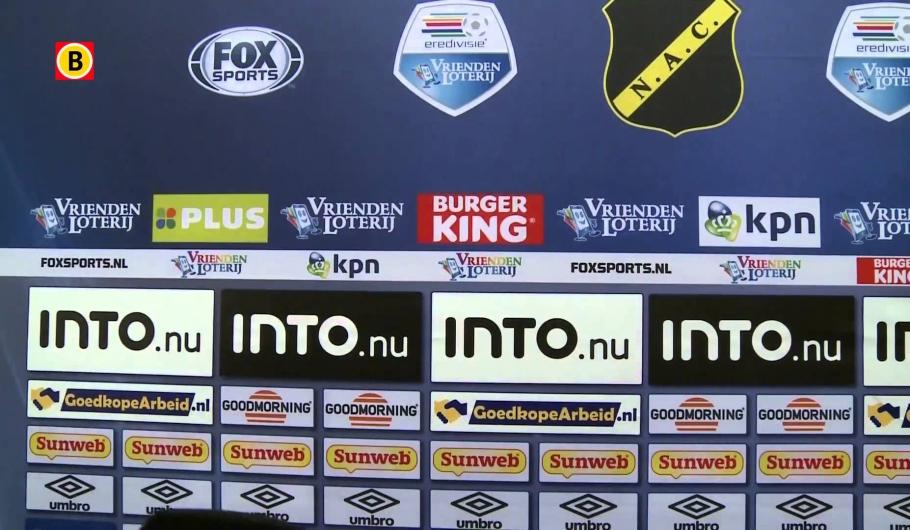 NAC-speler barst in tranen uit na degradatie uit Eredivisie