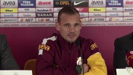 Sneijder wil Europees en stuurt aan op vertrek