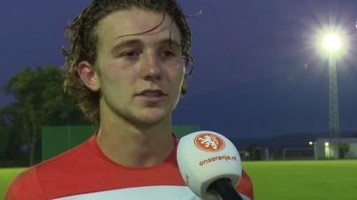 'Jeugdinternational FC Twente debuteert tegen Ajax'