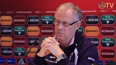 IJslandse bondscoach verwacht zware klus tegen Turkije