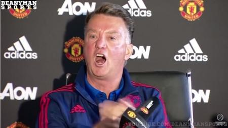 Louis van Gaal is niet bang voor Pep Guardiola
