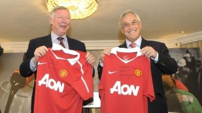 Ferguson geniet van persconferenties Van Gaal: 'Briljant'