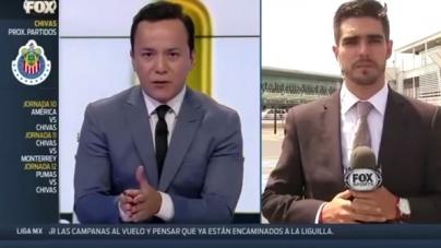 VIDEO | FOX Sports-verslaggever aangereden tijdens uitzending