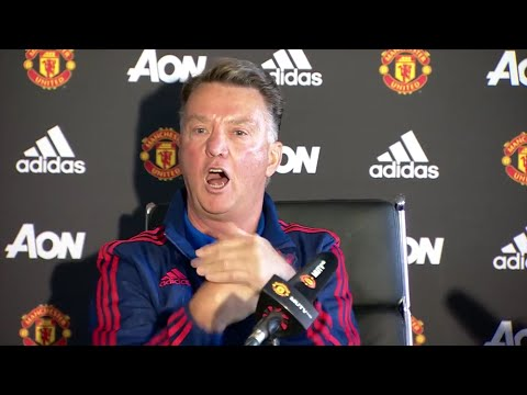 Van Gaal: 'The fans are shouting: Louis van Gaal's army!'