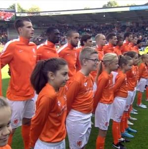 Jong Oranje boekt benauwde zege op Wit-Rusland