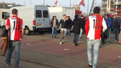 Naam huisjurist Feyenoord prijkt op shirtjes Rotterdamse voetbalfans