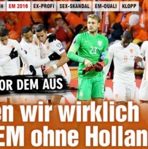 Bild: 'We willen geen EK zonder Oranje'