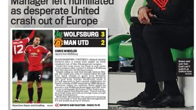 Engelse pers vernietigt Van Gaal