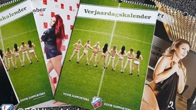 Vrouwelijke fans uit kleren voor FC Utrecht