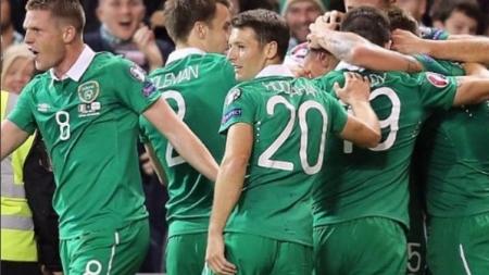 Ierland oefent tegen Nederland in EK uitzwaaiwedstrijd