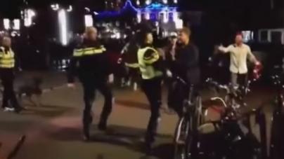 VIDEO | Politie arresteert PSV-spelers na vechtpartij