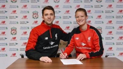 Leeuwinnen-captain tekent contract bij Liverpool