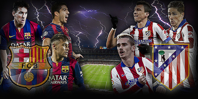 barcelona ateltico champions league