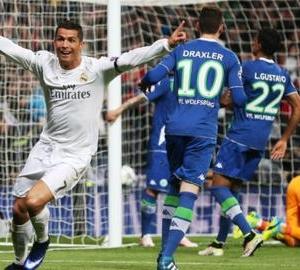 Real Madrid alsnog langs Wolfsburg naar de halve finale