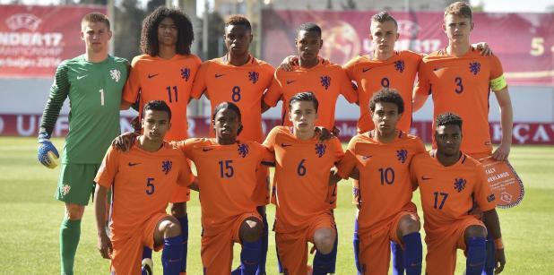 oranje onder 17 nederlands elftal