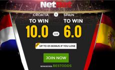 Voorspel winst voor Spanje en ontvang 6 keer je inzet terug!